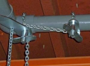 パイプ挿入工具ほそかん 天井配管 使用例